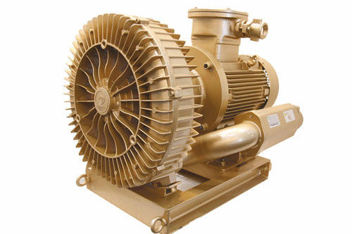 18.5kw Oil Free Side Channel Vacuum Pump With Nanyang Explosion Proof Motor